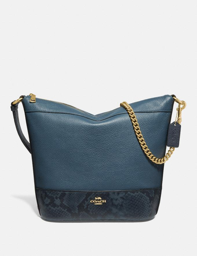 Coach Paxton Duffle Dark Denim Explore Bags Bags Shoulder Bags