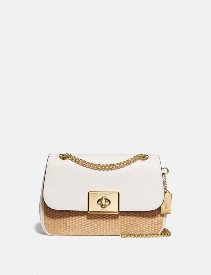 Coach Cassidy Crossbody Natural Chalk/Gold Explore Bags Bags Crossbody Bags