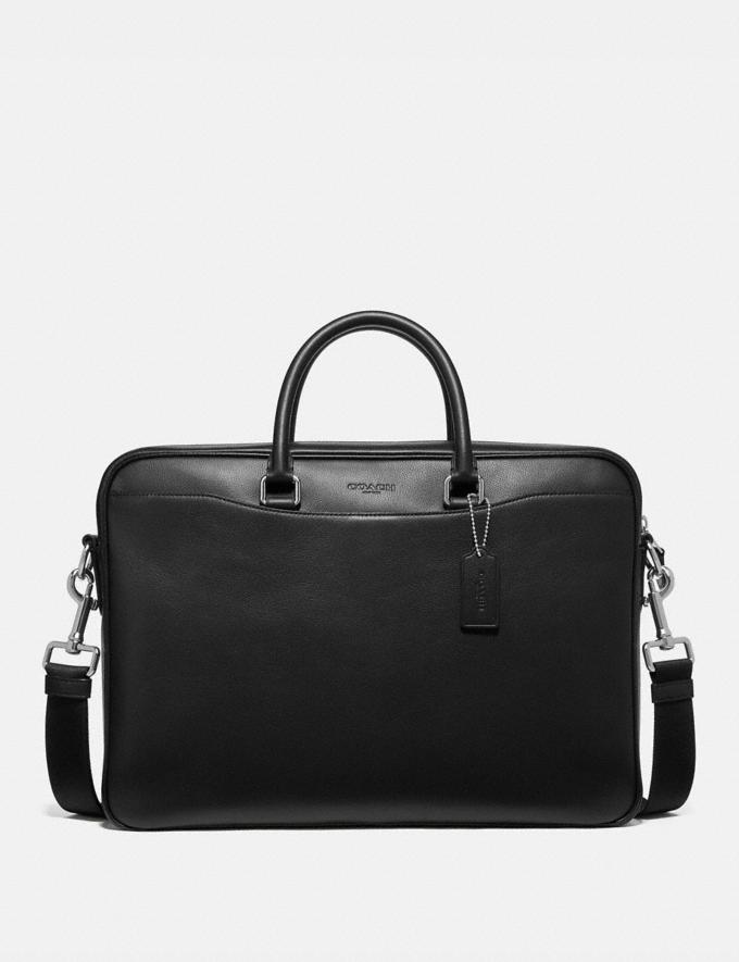 Coach Beckett Slim Brief Black Explore Men Explore Men Bags
