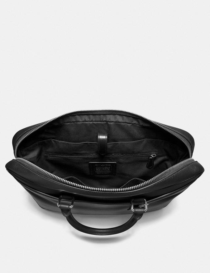 Coach Beckett Slim Brief Black Explore Men Explore Men Bags Alternate View 1