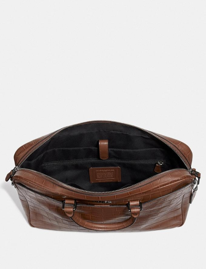 Coach Beckett Slim Brief Saddle Explore Men Explore Men Bags Alternate View 1
