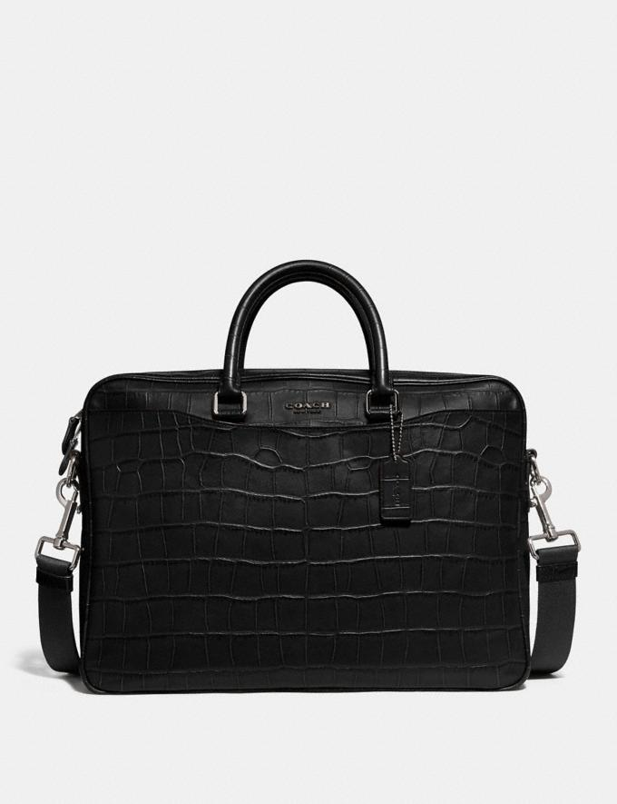 Coach Beckett Slim Brief Black Men Bags