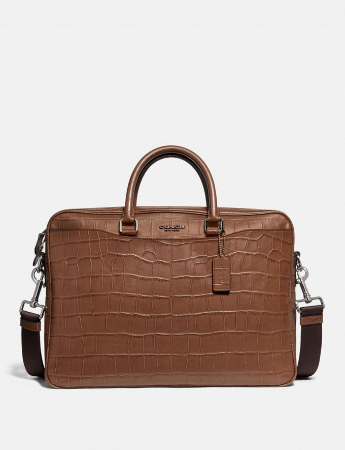 Coach Beckett Slim Brief Saddle Explore Men Explore Men Bags