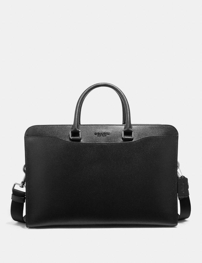 Coach Beckett Structured Brief Black Explore Men Explore Men
