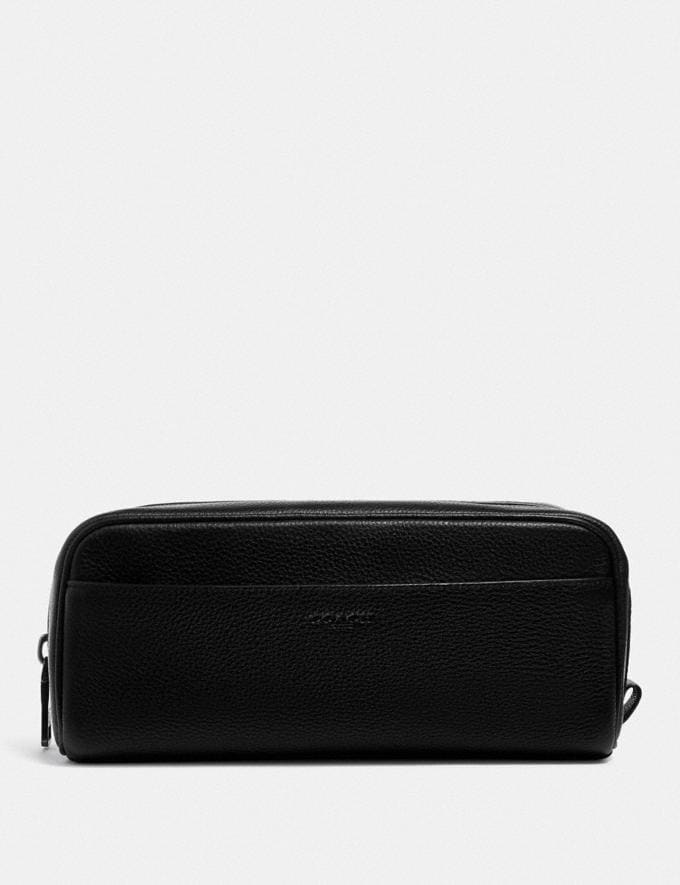 Coach Dopp Kit Black Explore Men Explore Men Travel