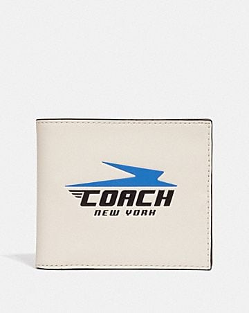 3-IN-1 WALLET WITH VINTAGE COACH MOTIF