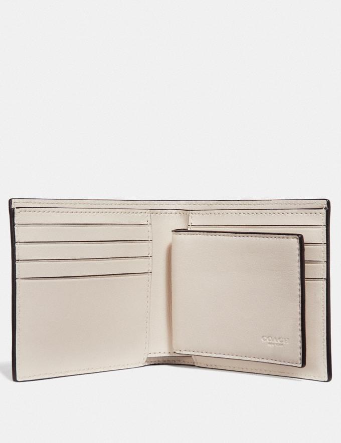 Coach 3-In-1 Wallet With Vintage Coach Motif Chalk Explore Men Explore Men Wallets Alternate View 1