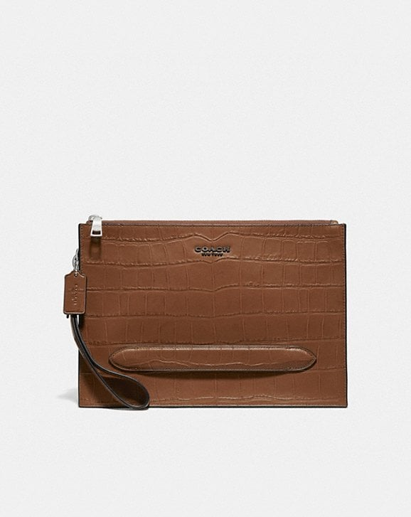 Coach STRUCTURED POUCH