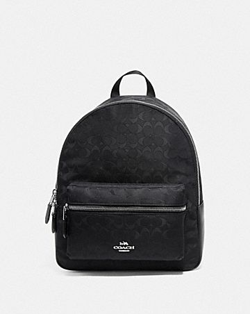 MEDIUM CHARLIE BACKPACK IN SIGNATURE NYLON