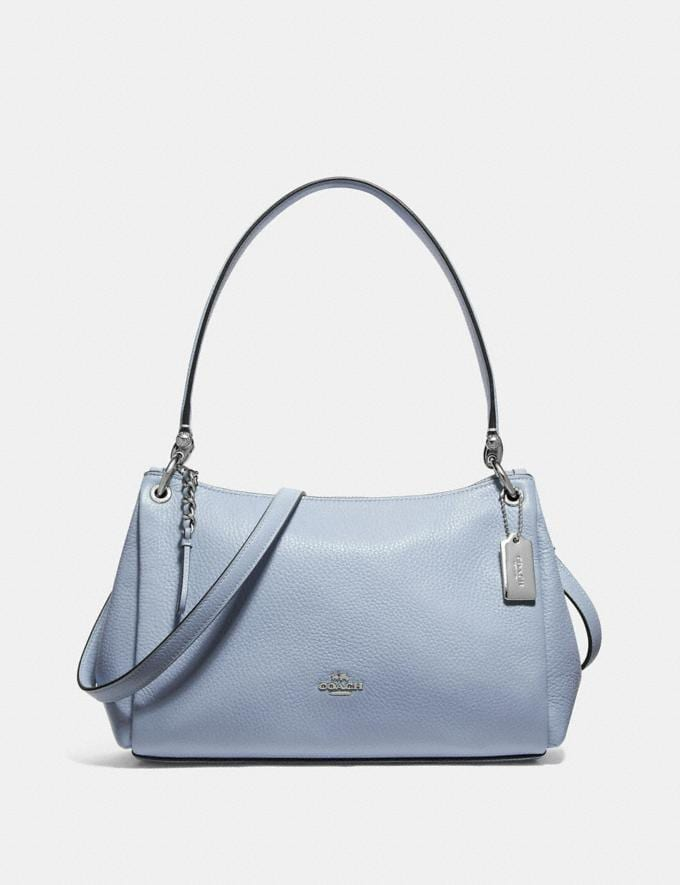 Coach Small Mia Shoulder Bag Steel Blue Explore Bags Bags Shoulder Bags