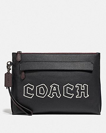 CARRYALL POUCH WITH GOTHIC COACH SCRIPT