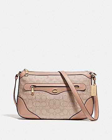 ivie messenger in signature jacquard