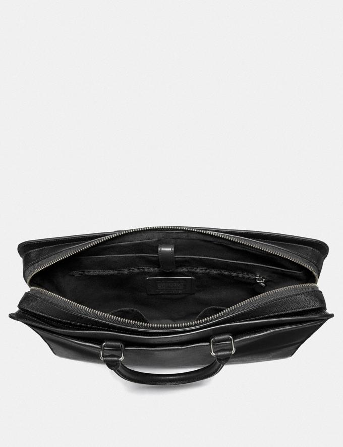 Coach Beckett Structured Brief Black Explore Men Explore Men Bags Alternate View 1