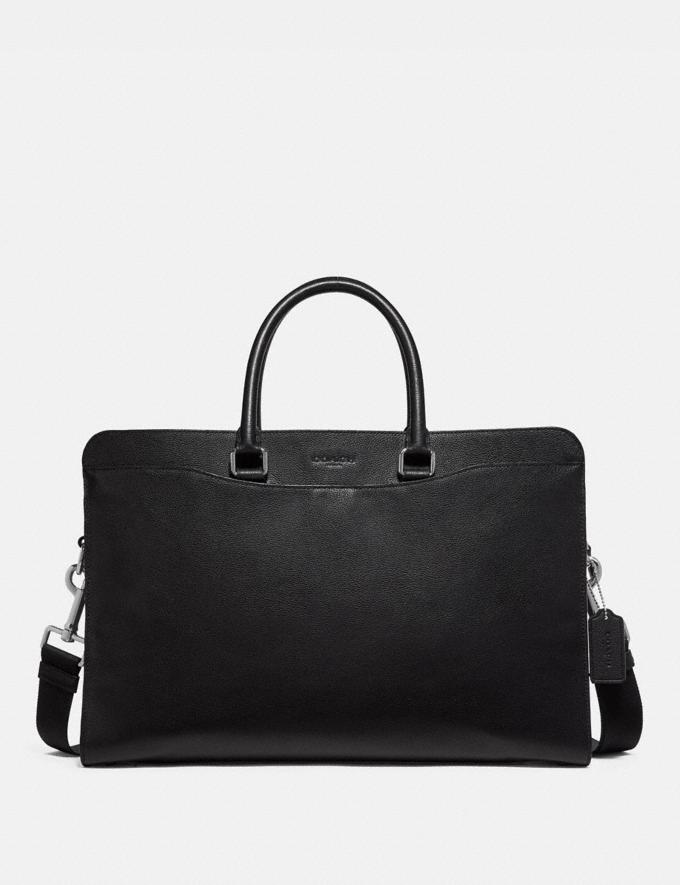 Coach Beckett Structured Brief Black Explore Men Explore Men Bags