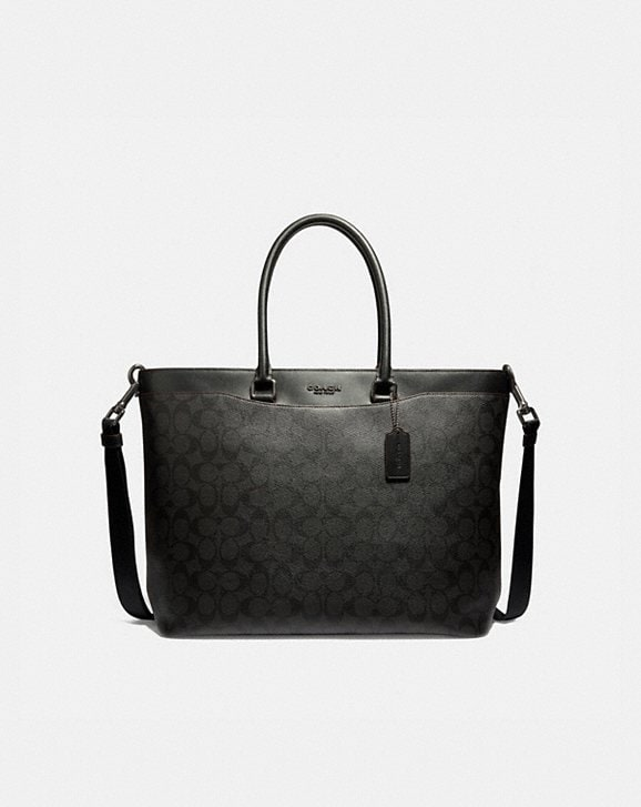 Coach BECKETT TOTE IN SIGNATURE CANVAS