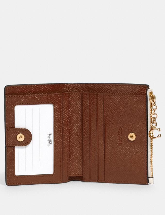 Coach Snap Card Case Im/Chalk  Alternate View 1