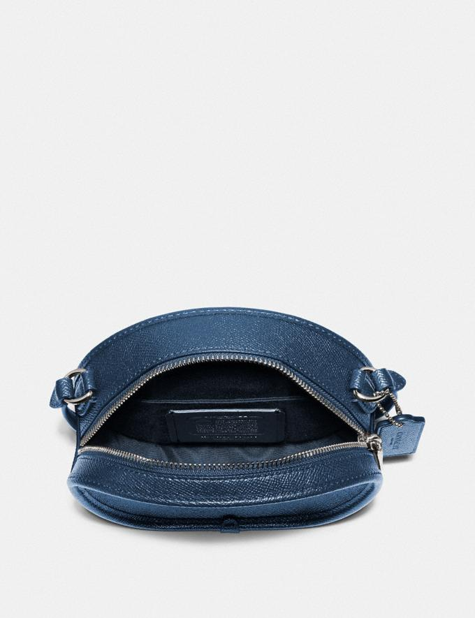 Coach Canteen Crossbody Midnight Navy/Silver Explore Bags Bags Crossbody Bags Alternate View 1