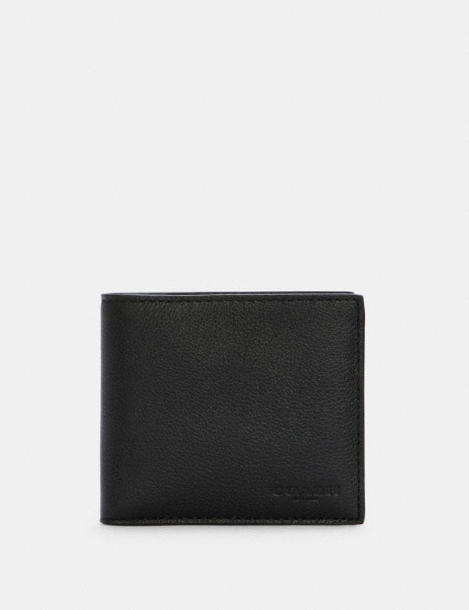 Coach Coin Wallet Black DEFAULT_CATEGORY