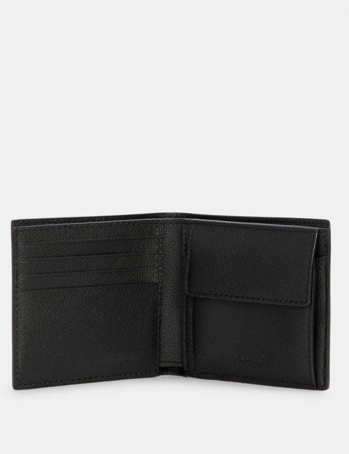 Coach Coin Wallet Black DEFAULT_CATEGORY Alternate View 1