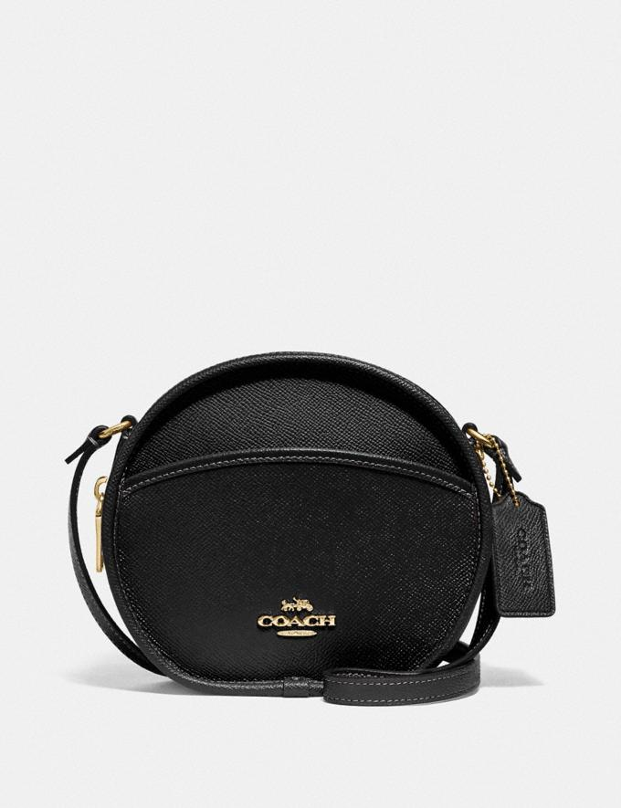 Coach Canteen Crossbody Black/Imitation Gold