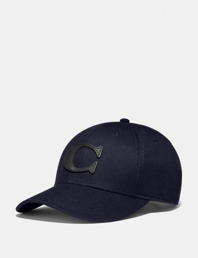 Coach Varsity C Cap Navy