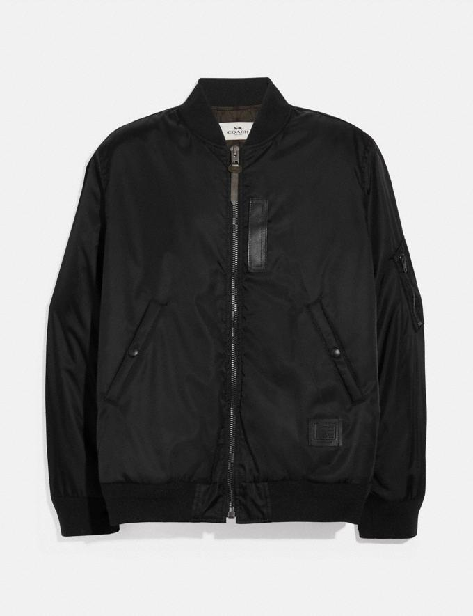 Coach Ma-1 Jacket Black