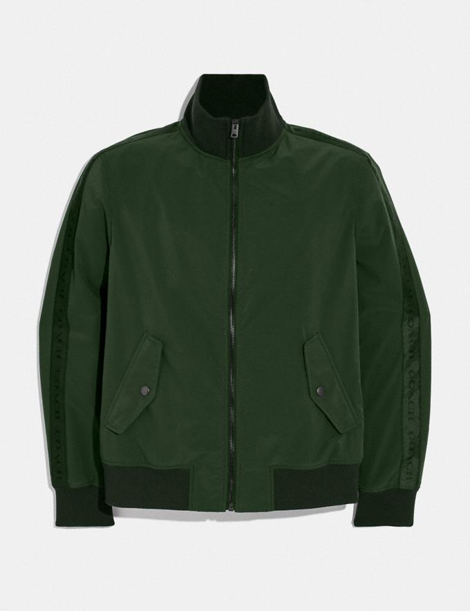 Coach Track Jacket Dark Moss