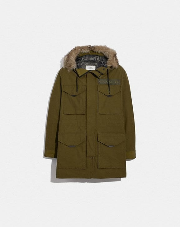 Coach 3-IN-1 PARKA WITH SHEARLING