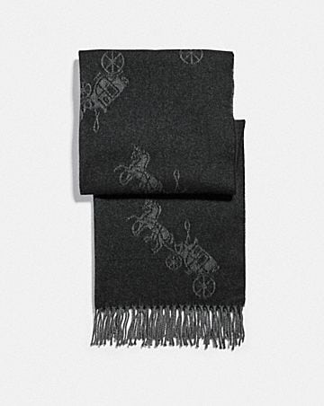 horse and carriage oversized muffler
