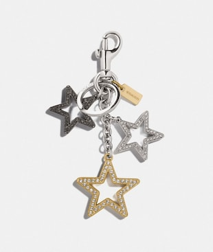 MULTI STAR BAG CHARM