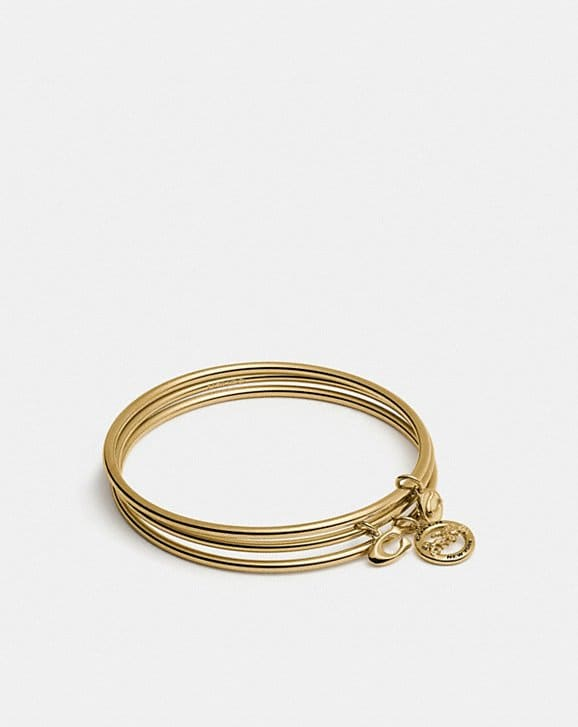 Coach HORSE AND CARRIAGE BANGLE SET