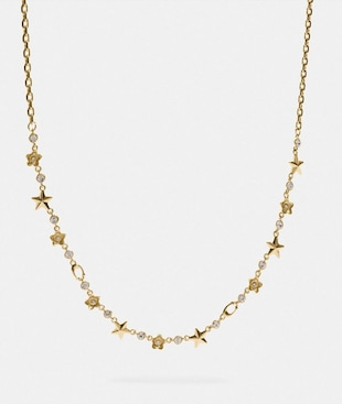 FLORAL STAR NECKLACE