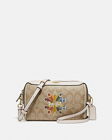 BENNETT CROSSBODY IN SIGNATURE CANVAS WITH COACH RADIAL RAINBOW