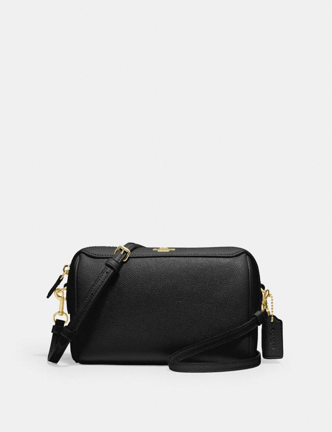 Coach Bennett Crossbody Black/Gold Women Bags