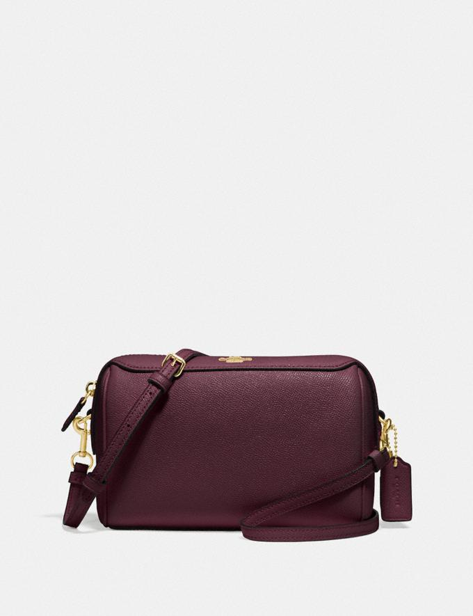 Coach Bennett Crossbody Im/Raspberry
