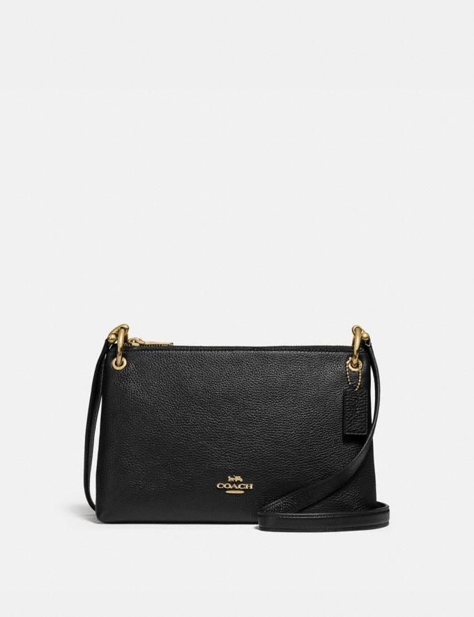 Coach Mia Crossbody Black/Gold