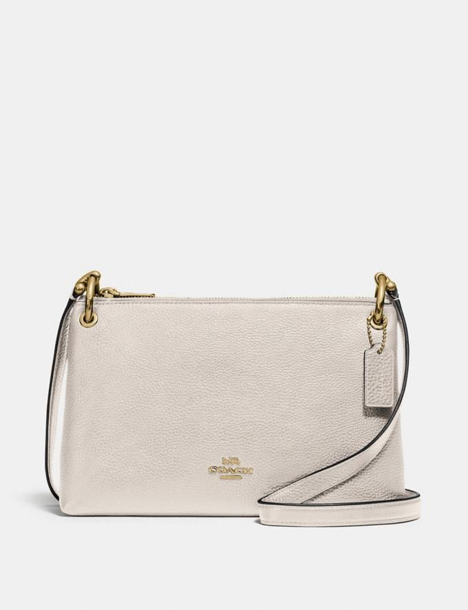 Coach Mia Crossbody Chalk/Gold 70% Off Steals