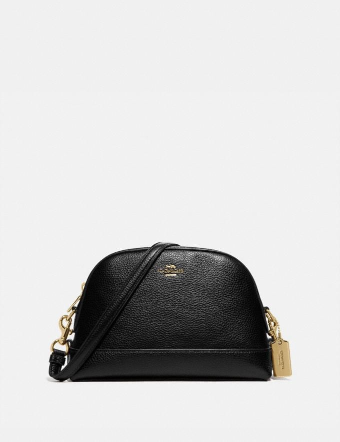 Coach Dome Crossbody Im/Black