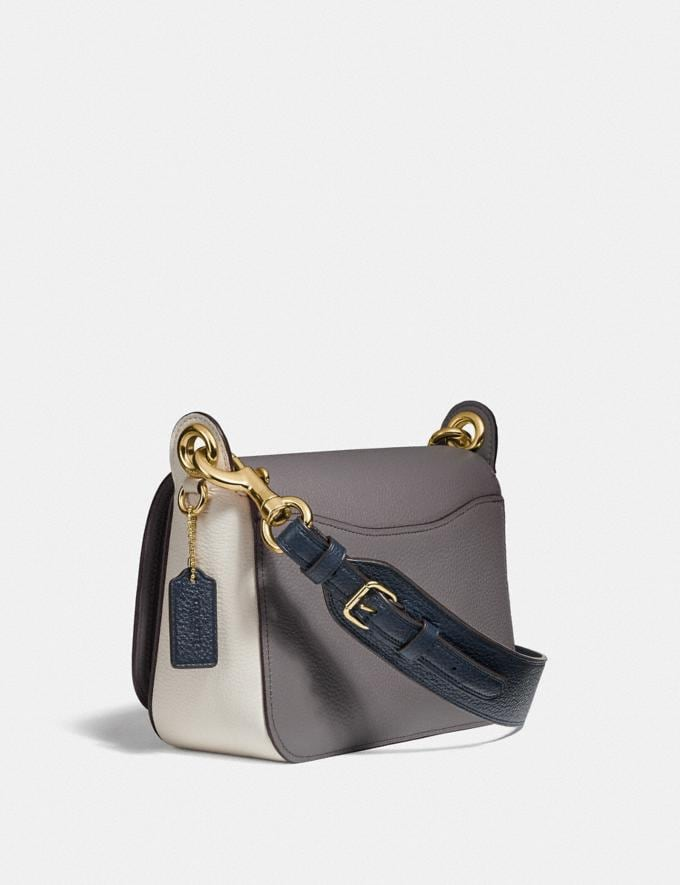 Coach Small Jes Messenger in Colorblock Im/Heather Grey Chalk Multi Explore Bags Bags Crossbody Bags Alternate View 1