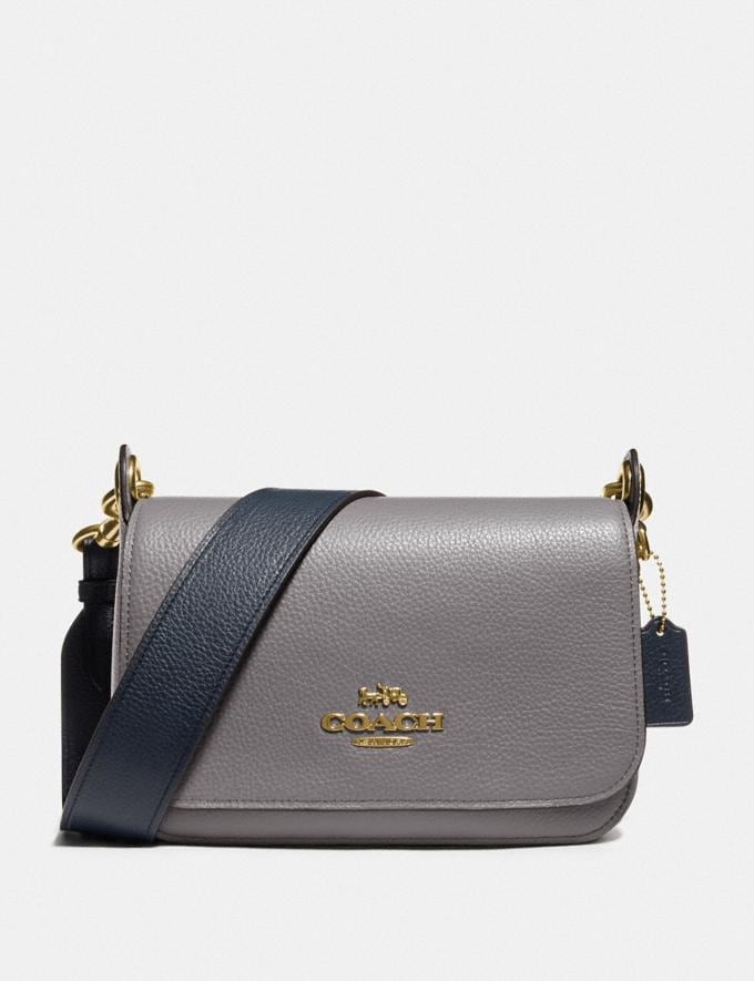 Coach Small Jes Messenger in Colorblock Im/Heather Grey Chalk Multi Explore Bags Bags Crossbody Bags