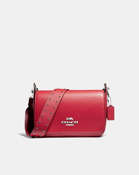 Coach SMALL JES MESSENGER WITH RIVETS