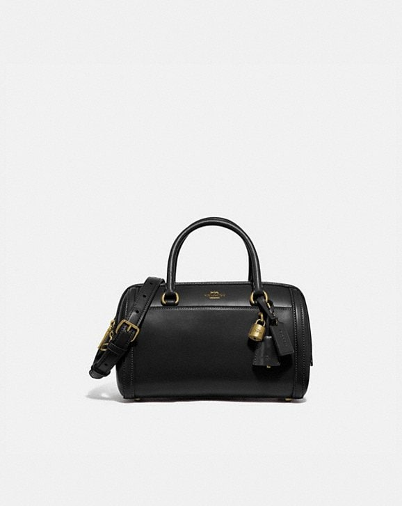 Coach ZOE BARREL SATCHEL