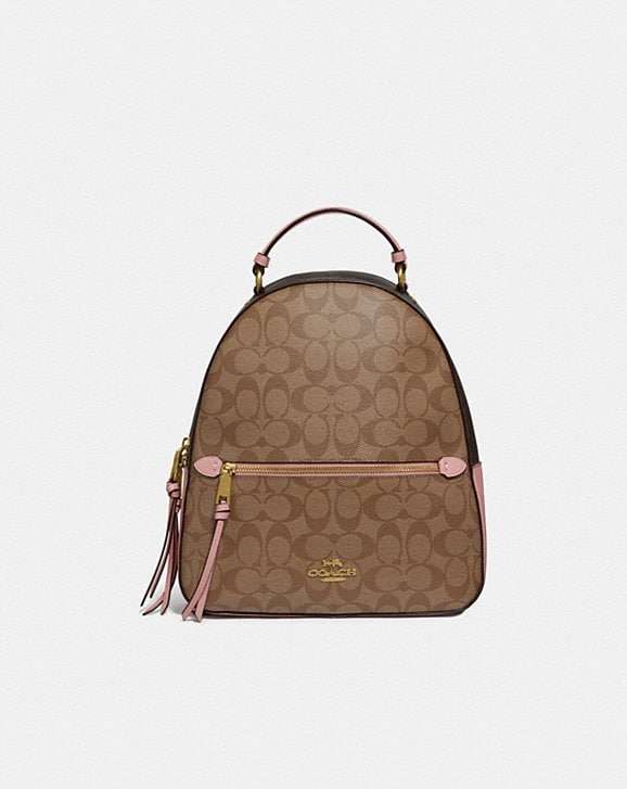 Coach JORDYN BACKPACK IN BLOCKED SIGNATURE CANVAS