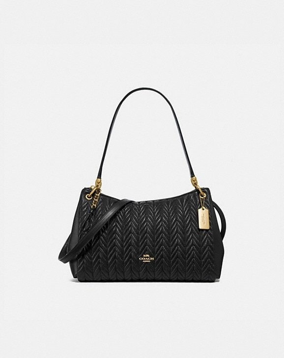 Coach SMALL MIA SHOULDER BAG WITH QUILTING