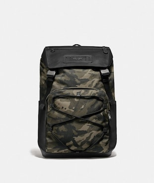 TERRAIN BACKPACK WITH CAMO PRINT