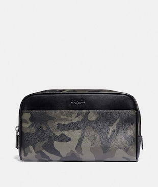 OVERNIGHT TRAVEL KIT WITH CAMO PRINT