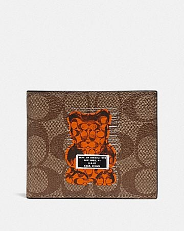 id billfold wallet in signature canvas with vandal gummy