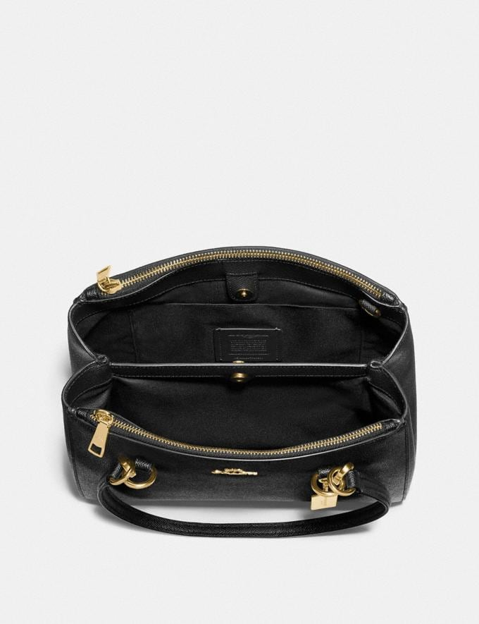 Coach Etta Carryall Black/Gold  Alternate View 1