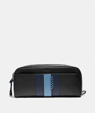 DOPP KIT WITH BASEBALL STITCH