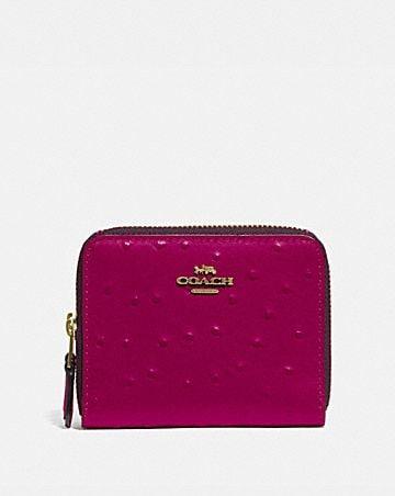 small double zip around wallet